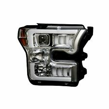 RECON 264290CLC Ford F-150 15-17 Clear-Chrome Headlights Projector
