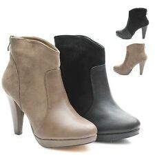 Damenstiefel & -Stiefeletten mit Reißverschluss für Sehr hoher Absatz (Größer als 8 cm) und Business