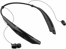 LG HBS-770 Tone Pro Wireless Headphones Neckband Bluetooth Headset (BLACK)