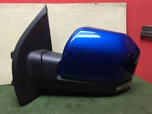2018 -2020 Ford F150 LH DRIVER side Power door mirror JL3417683 VelBlu OEM (#8)