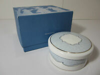 WEDGWOOD VENICE Bone China Jewelry Ring Trinket Box with LId NEW!