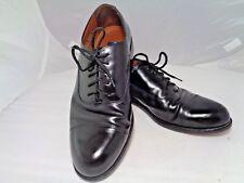 Bostonian Black Leather Classics First Flex Cap Toe Dress Shoes, 10.5 M -Lace Up