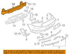 PORSCHE OEM 13-15 Boxster Rear Bumper-Impact Reinforcement Bar Rebar 98150514100