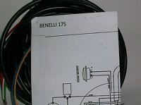 IMPIANTO ELETTRICO ELECTRICAL WIRING MOTO BENELLI 175 4 TEMPI+ SCHEMA ELETTRICO