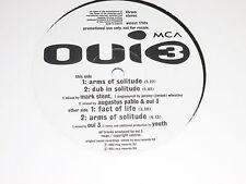 "OUI 3 - Arms of solitude - 1993 12"" UK Vinyl Single - DJ PROMO"