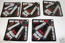 Heavy Grips Hand Grippers Metal Set 5 Pack 150-350lbs