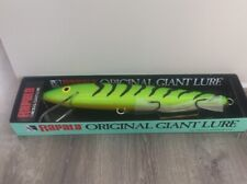 Rapala Original Giant Lure 29 Inches Firetiger New In Box Collectible Man Cave