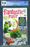 Fantastic Four 1 (Marvel) CGC 9.8 White Pages Facsimile Edition Reprint