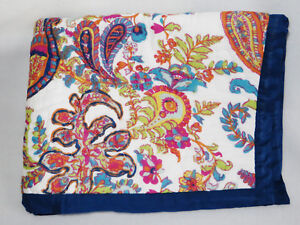 Pottery Barn Felicity Paisley Quilted Standard Sham Multi New
