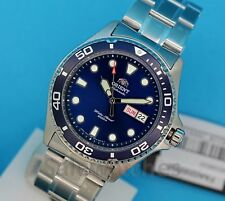 NWT ORIENT New Ray II FAA02005D Sporty Automatic 200M Diving Watch