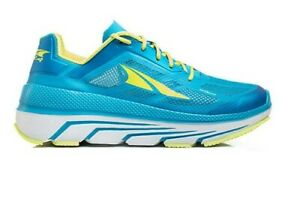 Altra Duo Womens 10.5 Blue Yellow White Trainers Neutral Running Shoes AFW1838F4