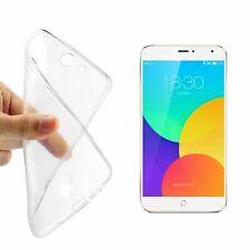 Meizu MX4 Hülle Transparent Silikon Case durchsichtige Handyhülle