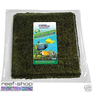 Ocean Nutrition Green Marine Algae 50 Sheets (150 gram) Marine Fish Food Seaweed