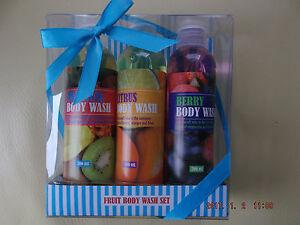 FRUIT BODY WASH SET