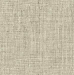 Wallpaper Smooth Finish Printed Faux Look Woven Grasscloth, Cream Beige