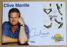 NATIONAL HEALTH SERVICE 1998 AUTOGRAPHED EDITIONS FDC SIGNED ACTOR CLIVE MANTLE