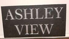 Quality Deep Engraved Slate sign plaque custom made for you!