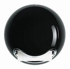 Spirella Bowl Shiny Polystyrol Toilet Paper Holder, Black