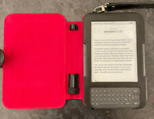 Amazon 4GB 3rd Generation Kindle Keyboard Used Working Order - Graphite