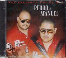 Pedro y Manuel CD NEW Fui Valiente Fui El M1 ALBUM Con 14 Corridos y MAS Sealed