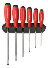 PB Swiss Tools PB 8240 Screwdriver Set Slotted with Wall Rack SwissGrip 3.5-10mm