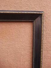 Très beau cadre en bois laqué noir XIXe siècle - Epoque et style Napoléon III