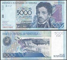 Venezuela 5000 BOLIVARES 2004 P 84c UNC