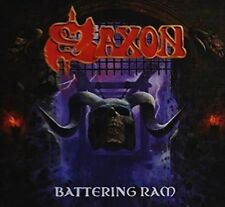 Saxon Battering RAM Ecolbook CD & PREORDER 16th October 2015