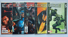 Ultimate Nightmare 1 2 3 4 5 Complete Set Run Lot #1-5 (Marvel, 2004-2005)