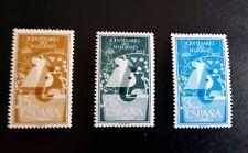 SELLOS ESPAÑA MNH 1955 CENTENARIO DEL TELÉGRAFO. PERFECTOS