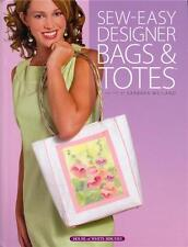 SEW EASY DESIGNER BAGS & TOTES Sewing Patterns NEW Hardcover