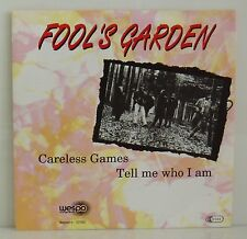 """7"""" Fool's Garden  Careless Games /Tell me who I am  Wespo 1992 sehr selten"""