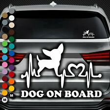 A177# Aufkleber Dog on Board Tour Pfote Pfoten Hundepfoten Hund Auto Sticker Paw