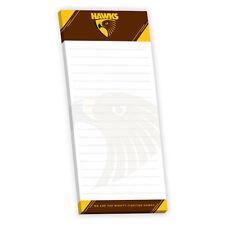 Hawthorn Hawks AFL Magnetic Shopping List Notebook