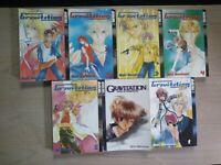 Gravitation 1-5, Ex 1, Voice of Temptation, Lot of 7 Yaoi Manga, English, 16+