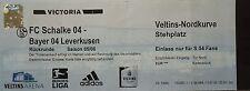 TICKET 2005/06 FC Schalke 04 - Bayer Leverkusen