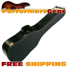 Super Economy Classic Acoustic Light Weight Hard Shell Guitar Carrying Case