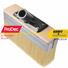 "ProDec 7"" Decking Patio Brush Head Universal Screw Fit Long Bristle Trade Spec"
