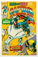 Captain America #403 (1992 Marvel) Man and Wolf - Part 2 NM-