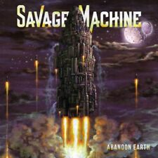 SAVAGE MACHINE - Abandon Earth (NEW*DK HEAVY/POWER METAL*ICED EARTH*METAL CHURCH