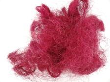 Sisal Feenhaar Pink Erika 75 g gefärbt Trockenmaterial Floristik Deko