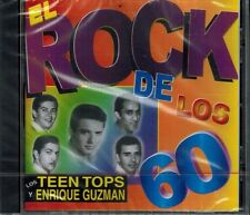 Los Teen Tops Y Enrique Guzman El Rock De Los 60 CD New Sealed