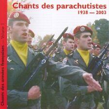 Chants des Chants des Parachutistes / (1 CD) / NEUF