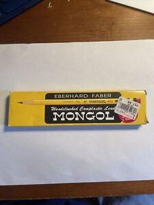 Vintage EBERHARD FABER MONGOL Pencils No. 482  No 1 BRAND NEW
