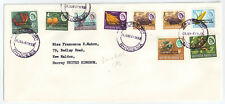 Southern Rhodesia 1966  Independence Cover SALISBURY Jan 24 [in violet]