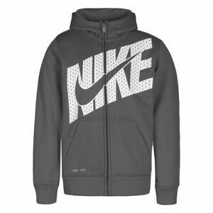 New Nike Little Boys Therma Fleece Full-Zip Hoodie Choose Size & Color MSRP $44