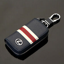 High-grade Leather Car Remote Key Chain Holder Case Bag Fit For Lexus Auto