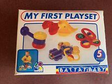 Battat Baby My First Playset Nib