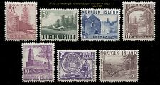 1953 NORFOLK ISLANDS TOWER, AIRFIELD, BLOODY BRIDGE, SALT HOUSE, COMPLETE  VLH