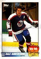 1990-91 Topps Tiffany Team Scoring Leaders #11 Dale Hawerchuk